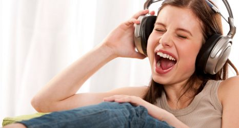 Listening To Loud Music